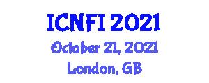 International Conference on Nanotechnology for Food Industry (ICNFI) October 21, 2021 - London, United Kingdom