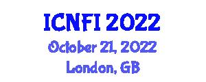 International Conference on Nanotechnology for Food Industry (ICNFI) October 21, 2022 - London, United Kingdom
