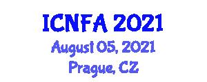 International Conference on Nanotechnology: Fundamentals and Applications (ICNFA) August 05, 2021 - Prague, Czechia