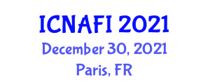 International Conference on Nanotechnology in Agriculture and Food Industry (ICNAFI) December 30, 2021 - Paris, France
