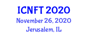 International Conference on Nanotechnology in Fibers and Textiles (ICNFT) November 26, 2020 - Jerusalem, Israel