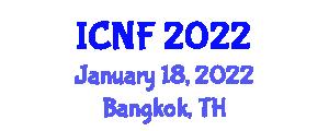 International Conference on Nanotechnology in Food (ICNF) January 18, 2022 - Bangkok, Thailand