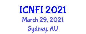 International Conference on Nanotechnology in Food Industry (ICNFI) March 29, 2021 - Sydney, Australia