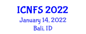 International Conference on Nanotechnology in Food Science (ICNFS) January 14, 2022 - Bali, Indonesia