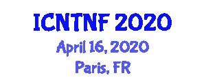 International Conference on Nanotechnology Textiles and Nanoscopic Fibers (ICNTNF) April 16, 2020 - Paris, France