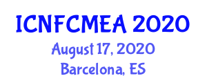International Conference on Natural Fiber Composite Materials for Engineering Applications (ICNFCMEA) August 17, 2020 - Barcelona, Spain