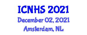 International Conference on Natural Hazards and Seismology (ICNHS) December 02, 2021 - Amsterdam, Netherlands