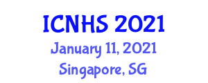 International Conference on Natural Hazards and Seismology (ICNHS) January 11, 2021 - Singapore, Singapore