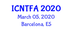 International Conference on Natural Textile Fibers and Applications (ICNTFA) March 05, 2020 - Barcelona, Spain