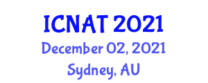International Conference on Neogeography and Analytic Tools (ICNAT) December 02, 2021 - Sydney, Australia