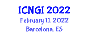 International Conference on Neogeography and Geographic Information (ICNGI) February 11, 2022 - Barcelona, Spain
