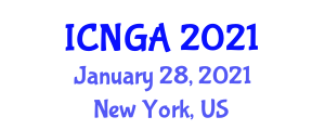International Conference on Neogeography and Geospatial Analysis (ICNGA) January 28, 2021 - New York, United States