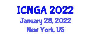 International Conference on Neogeography and Geospatial Analysis (ICNGA) January 28, 2022 - New York, United States