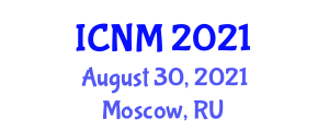 International Conference on Neogeography and Mapping (ICNM) August 30, 2021 - Moscow, Russia