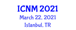 International Conference on Neogeography and Mapping (ICNM) March 22, 2021 - Istanbul, Turkey