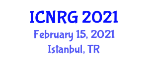 International Conference on Neogeography and Reinventing Geography (ICNRG) February 15, 2021 - Istanbul, Turkey