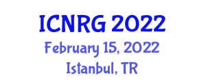 International Conference on Neogeography and Reinventing Geography (ICNRG) February 15, 2022 - Istanbul, Turkey
