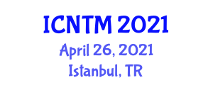 International Conference on Neogeography and Traditional Mapping (ICNTM) April 26, 2021 - Istanbul, Turkey