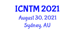 International Conference on Neogeography and Traditional Mapping (ICNTM) August 30, 2021 - Sydney, Australia