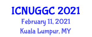 International Conference on Neogeography and User-Generated Geographic Content (ICNUGGC) February 11, 2021 - Kuala Lumpur, Malaysia