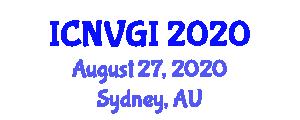 International Conference on Neogeography and Volunteered Geographic Information (ICNVGI) August 27, 2020 - Sydney, Australia