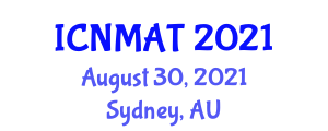 International Conference on Neogeography Maps and Analytic Tools (ICNMAT) August 30, 2021 - Sydney, Australia