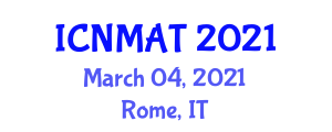 International Conference on Neogeography Maps and Analytic Tools (ICNMAT) March 04, 2021 - Rome, Italy