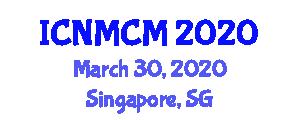 International Conference on Neogeography Maps and Cartographic Modeling (ICNMCM) March 30, 2020 - Singapore, Singapore