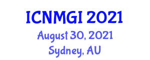 International Conference on Neogeography Maps and Geographic Information (ICNMGI) August 30, 2021 - Sydney, Australia
