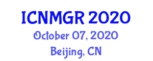 International Conference on Neogeography Maps and Geographic Representation (ICNMGR) October 07, 2020 - Beijing, China