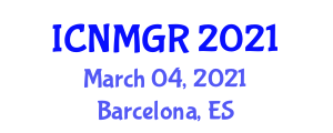 International Conference on Neogeography Maps and Geographic Representation (ICNMGR) March 04, 2021 - Barcelona, Spain