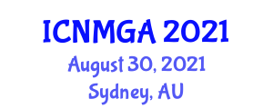 International Conference on Neogeography Maps and Geospatial Analysis (ICNMGA) August 30, 2021 - Sydney, Australia