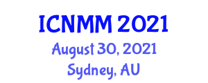 International Conference on Neogeography Maps and Mapping (ICNMM) August 30, 2021 - Sydney, Australia