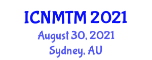 International Conference on Neogeography Maps and Traditional Mapping (ICNMTM) August 30, 2021 - Sydney, Australia