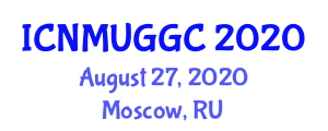 International Conference on Neogeography Maps and User-Generated Geographic Content (ICNMUGGC) August 27, 2020 - Moscow, Russia