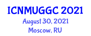International Conference on Neogeography Maps and User-Generated Geographic Content (ICNMUGGC) August 30, 2021 - Moscow, Russia