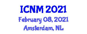 International Conference on Neogeography Maps (ICNM) February 08, 2021 - Amsterdam, Netherlands