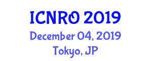 International Conference on Network Reliability and Optimization (ICNRO) December 04, 2019 - Tokyo, Japan