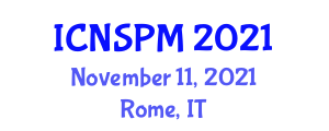 International Conference on Network Strategy, Planning and Management (ICNSPM) November 11, 2021 - Rome, Italy