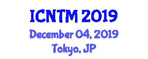 International Conference on Network Traffic Measurement (ICNTM) December 04, 2019 - Tokyo, Japan