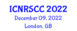 International Conference on Networked Robotic Systems and Cooperative Control (ICNRSCC) December 09, 2022 - London, United Kingdom