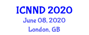International Conference on Neuroscience and Neurological Disorders (ICNND) June 08, 2020 - London, United Kingdom