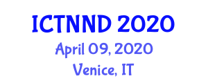 International Conference on Neurosurgery and Neurological Disorders (ICTNND) April 09, 2020 - Venice, Italy