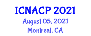 International Conference on New Approaches for Computational Physics (ICNACP) August 05, 2021 - Montreal, Canada