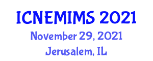 International Conference on New Energy Materials and Intelligent Materials Systems (ICNEMIMS) November 29, 2021 - Jerusalem, Israel