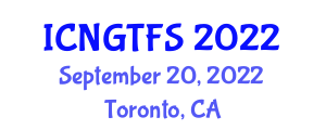 International Conference on Next-Generation Technologies for Food Safety (ICNGTFS) September 20, 2022 - Toronto, Canada