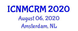 International Conference on Niche Marketing and Customer Relationship Management (ICNMCRM) August 06, 2020 - Amsterdam, Netherlands