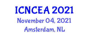International Conference on Nonlinear Control Engineering and Applications (ICNCEA) November 04, 2021 - Amsterdam, Netherlands