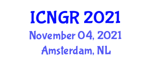 International Conference on Nuclear Geophysics and Research (ICNGR) November 04, 2021 - Amsterdam, Netherlands