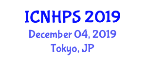 International Conference on Nuclear Hydrogen Production and Simulation (ICNHPS) December 04, 2019 - Tokyo, Japan